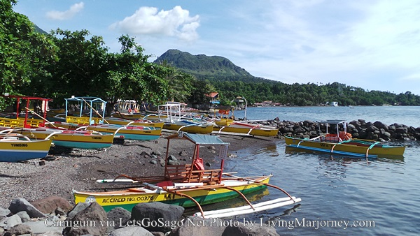 Yumbing Boat Terminal Going To White Island, Camiguin