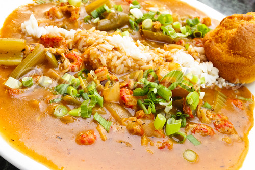 Crawfish Etouffee