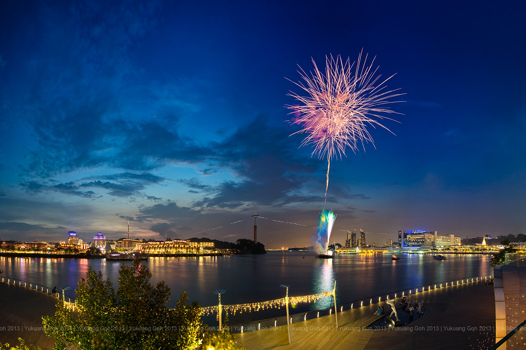 VivoCity 7th Anniversary Fireworks