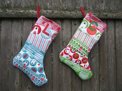 QAYG Christmas Stockings Complete