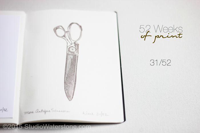 52 Weeks of Print: 31/52