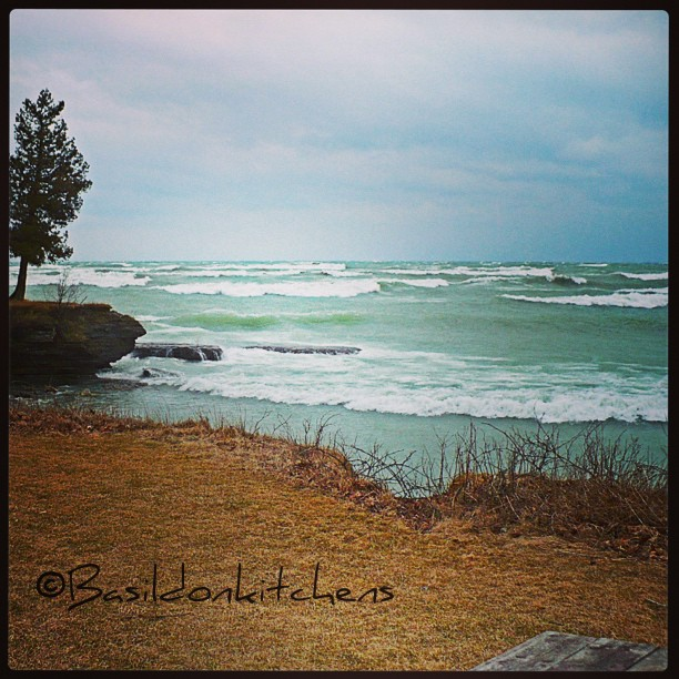 May 30 -waves {no waves today; this is March 2012 @ Sandbanks Prov Park; it was cold & very windy} #TitleFx #photoaday #waves #princeedwardcounty #sandbanks