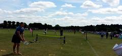 Playing at Wimbledon park