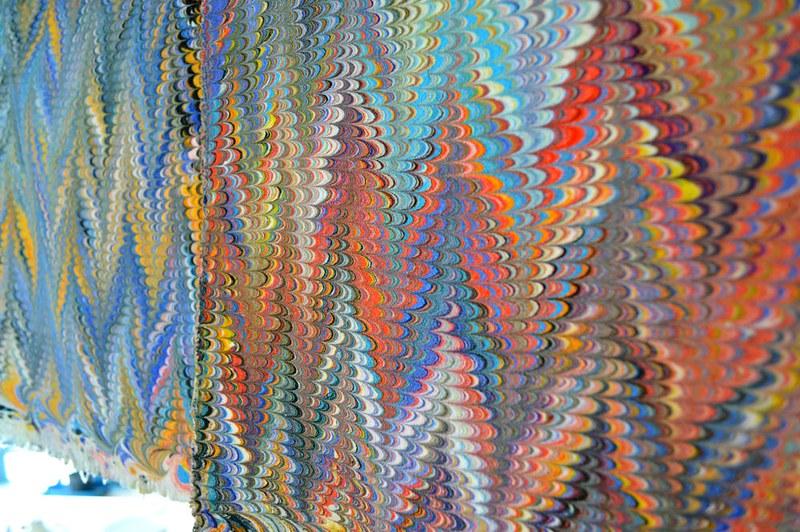 rainbows on a clothesline