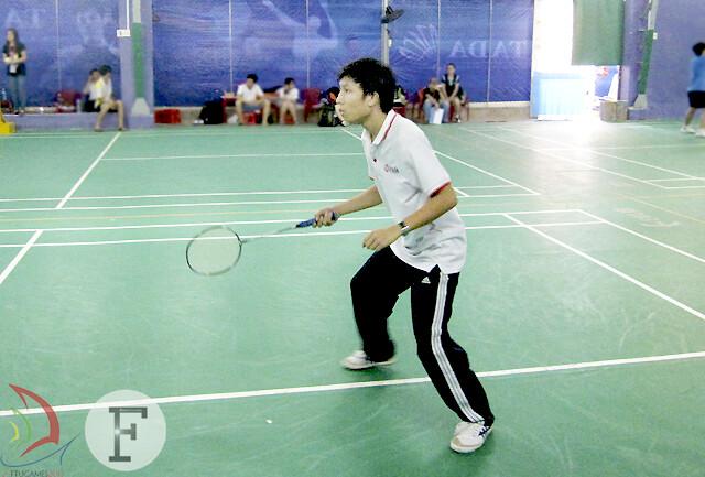 Tạ Trường Luật – K51G - tay vợt nam tiềm năng cho chức vô địch mùa giải