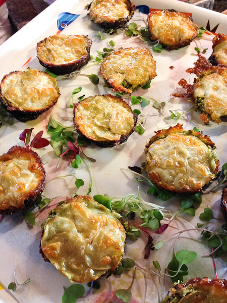 "Potato and Kale ""Lasagna"" Cups"