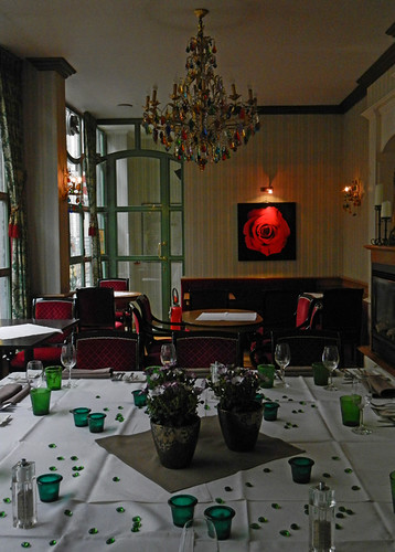 B&B Verdi in Bruges - the restaurant