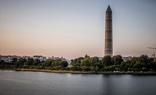 Washington Skyline from Jefferson Memorial