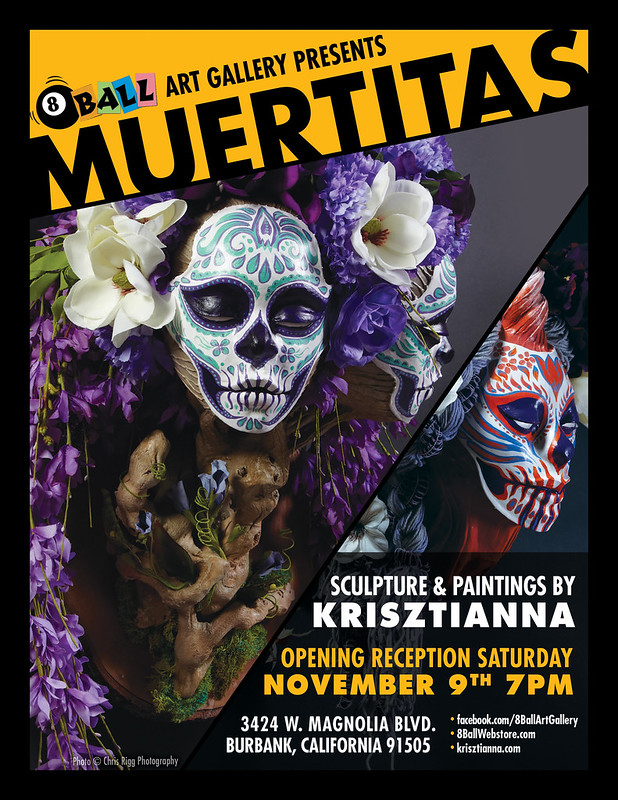 Krisztianna Solo Show in Burbank, November 9