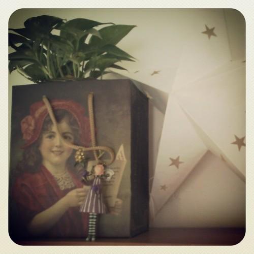El potos de la niña y la estrella de Almudena by alialba