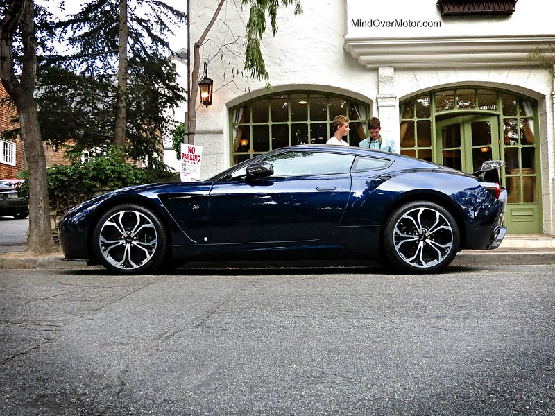 Aston Martin V12 Zagato Spotted During Monterey Car Week 2013