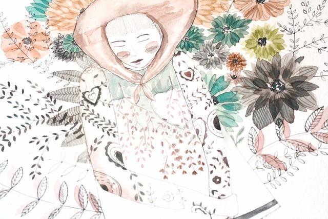 Bloom flower detail