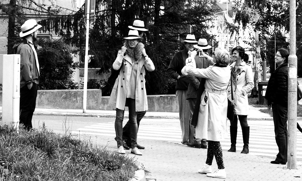 People in Hats 1