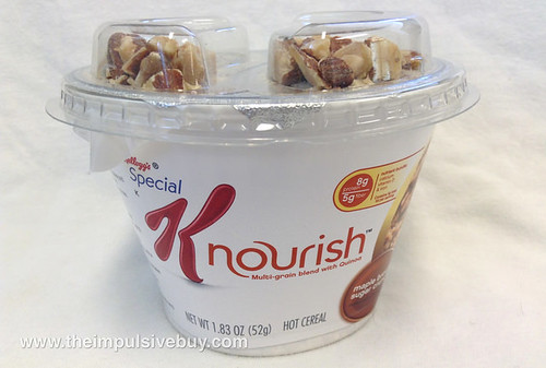 Kellogg's Special K Maple Brown Sugar Crunch Nourish Hot Cereal Cup