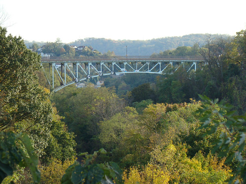 Charles Anderson Memorial Bridge (seen from the Schenley Bridge) - Oct. 22n 2013