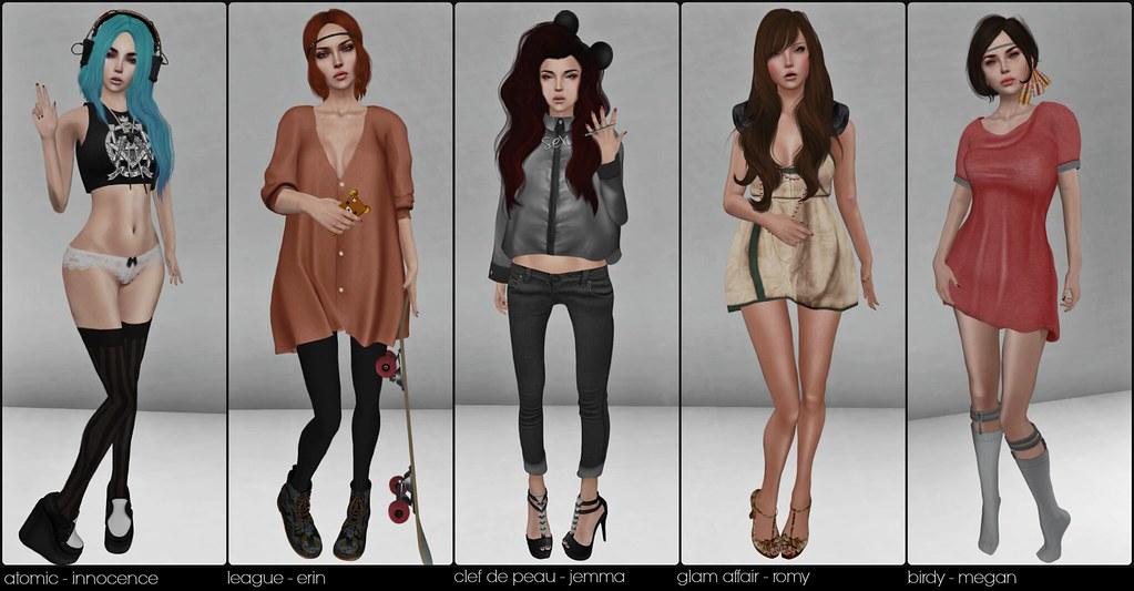 skin fair collage - full body