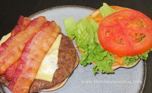 McDonald's Bacon Habanero Ranch Quarter Pounder Parts