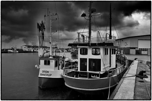 Hirtshals Harbour by Davidap2009