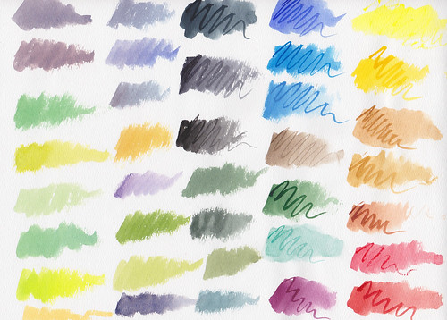 Winsor & Newton Cotman Swatches