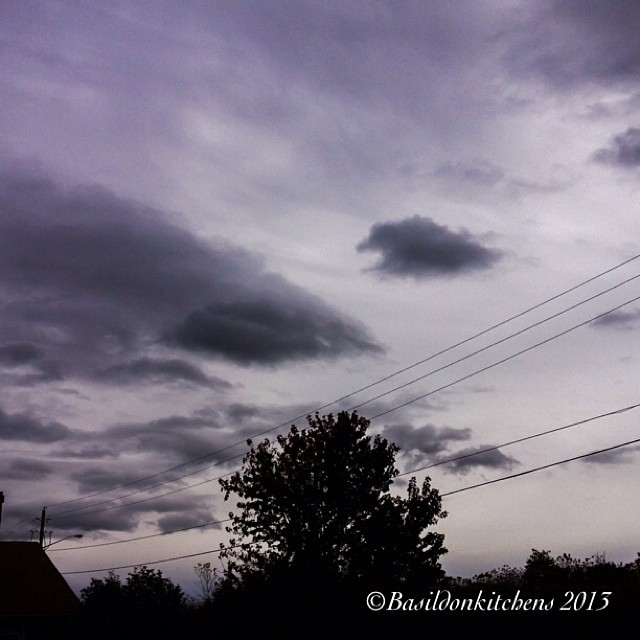 Oct 23 - my mood today {gray, like the weather} #fmsphotoaday #sky #mood #gray #clouds #weather