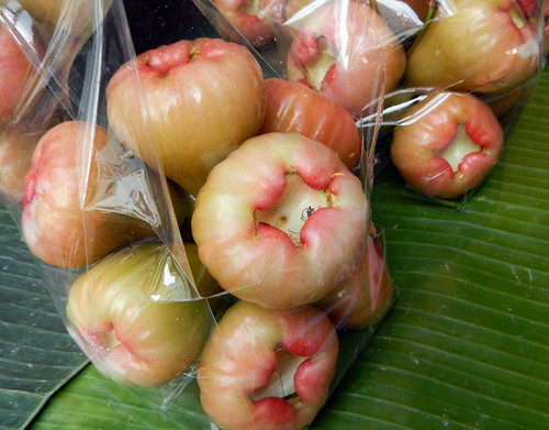 Rose-apple fruit for sale in Bangkok