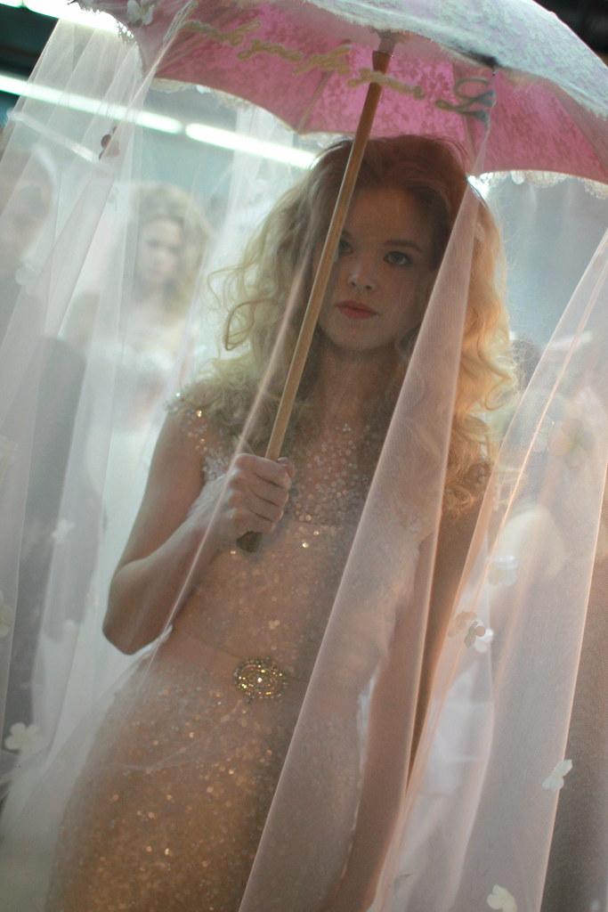 Reem Acra Spring 2014 Bridal- Backstage - 026