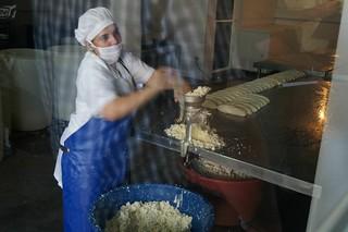 Cheese processing in Boaca, Nicaragua