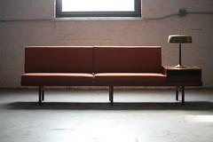 Memorable Scandinavian Mid Century Modern Karl Sorlie & Sonner Modular Teak Platform Sofa (Norway, 1950s)