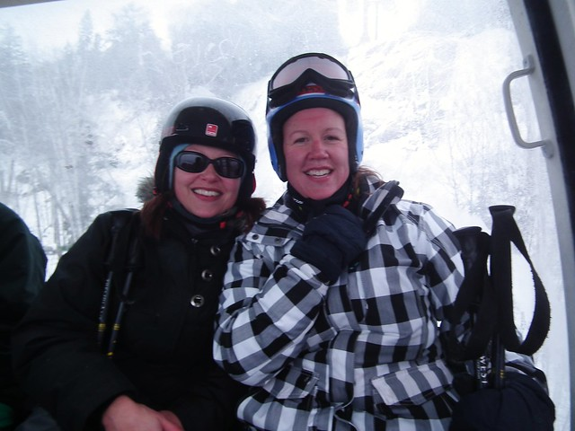 Skiing at Mont Tremblant