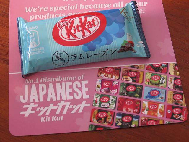 Japanese Kit Kats from sushinoms.com