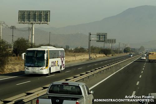 Condor Bus - Santiago - Busscar Vissta Buss LO / Scania
