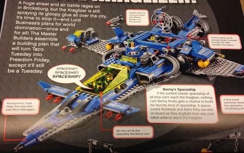 The LEGO Movie Benny's Spaceship 2