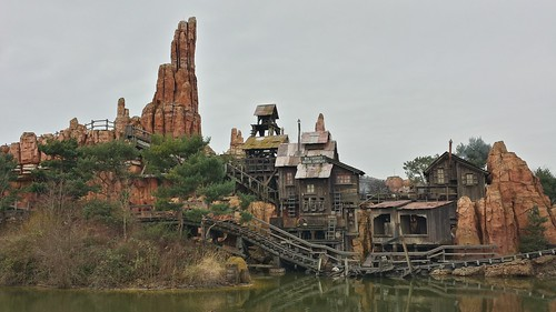 Eurodisney - Big Thunder Mountain Railroad