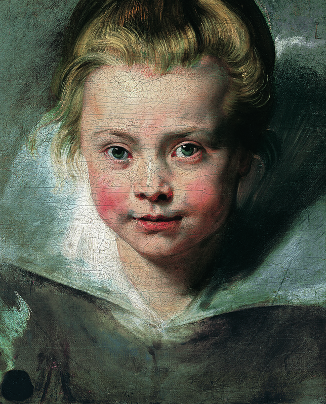 Portrait of Clara Serena Rubens (1611-1623)