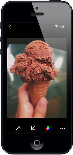 iPhone版Flickr App即時濾鏡擁有預覽功能 可隨時顯示成品樣貌