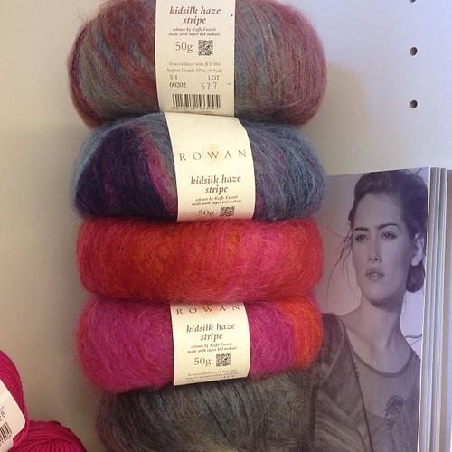 Nuovi arrivi da Punti e Spilli Rowan kid silk  #yarn #Rowan #puntiespilli #newarrival