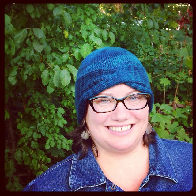 Nola Cloche #knitting #yarn #handknit