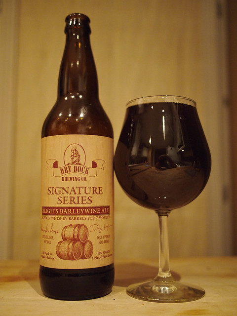 Dry Dock Signature Series Bligh's Barleywine Ale