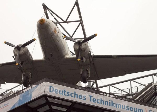 DC3 auf dem Technikmuseum Berlin
