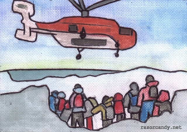 Rescuers airlift 52 from Antarctic ship (1)