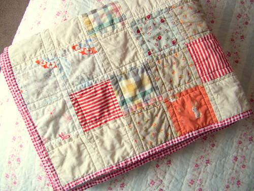 Ollalieberry Ice Cream Quilt