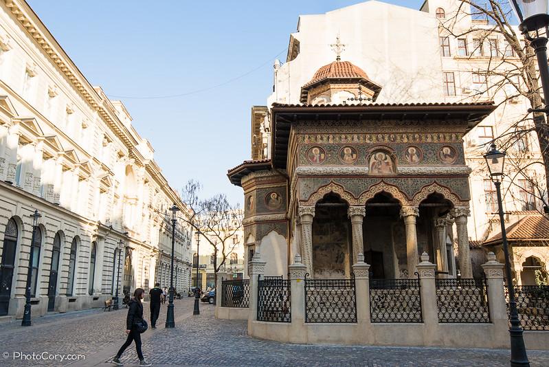 Stravopoleus Church, Bucharest