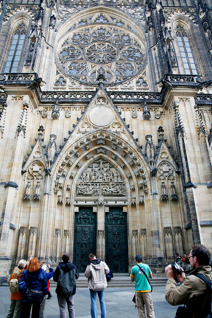 St Vitus Cathedral, Prague.
