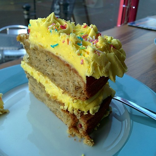 Cakey lushness from @parklifecafe  #cake #fatboy by South Downs MTB Skills
