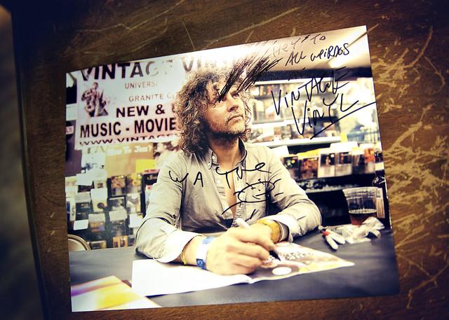 Wayne Coyne @ Vintage Vinyl