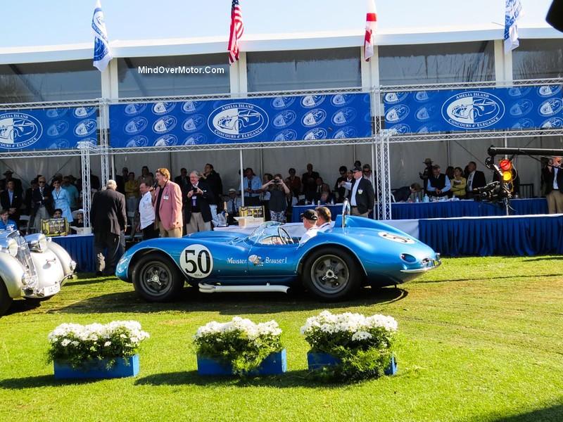 Scarab Best Of Show Concours DSport Amelia Island - Amelia island car show
