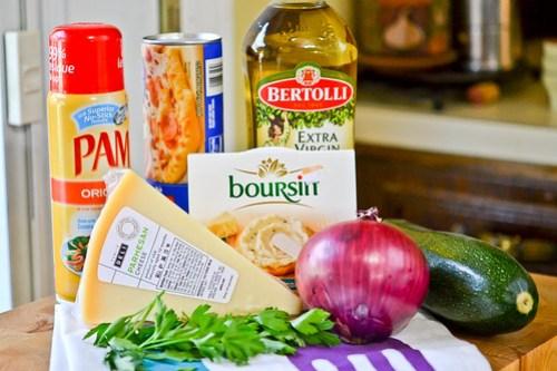 Zucchini & Red Onion Flatbread-1