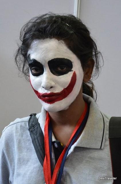 Joker Zombie Comic Con India
