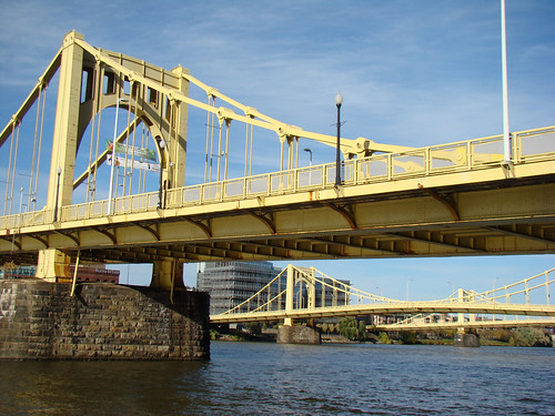 Roberto Clemente Bridge and company - Oct. 21st 2013