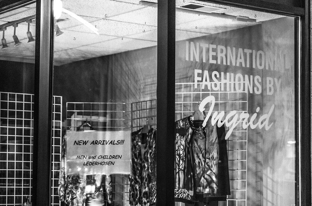 I is for International Fashions by Ingrid